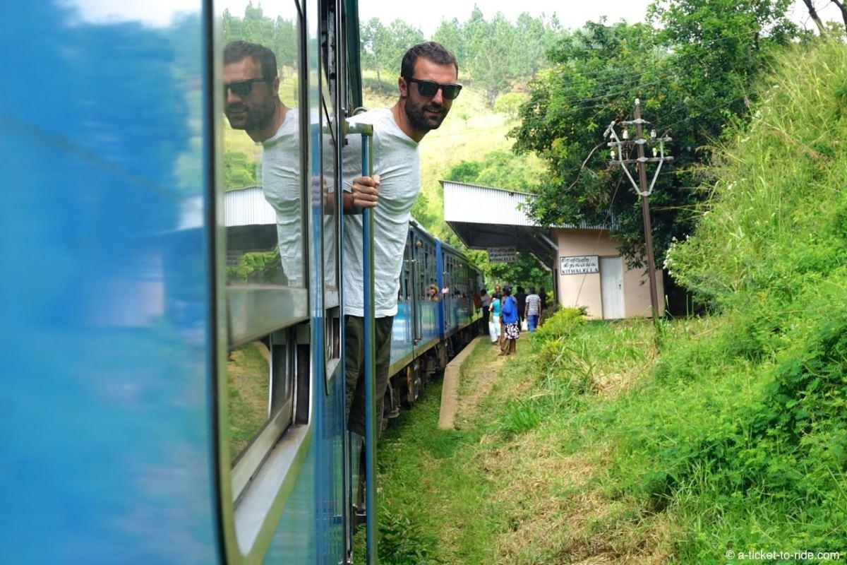 Sri Lanka, train, Mathieu