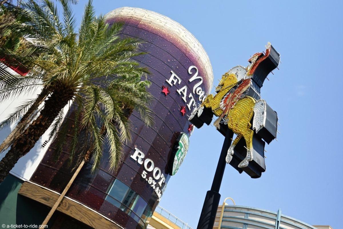 USA, Las Vegas, Downtown cow-boy