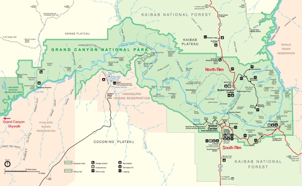 map-grand canyon-national-park