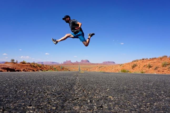 Monument valley, Forrest gump point