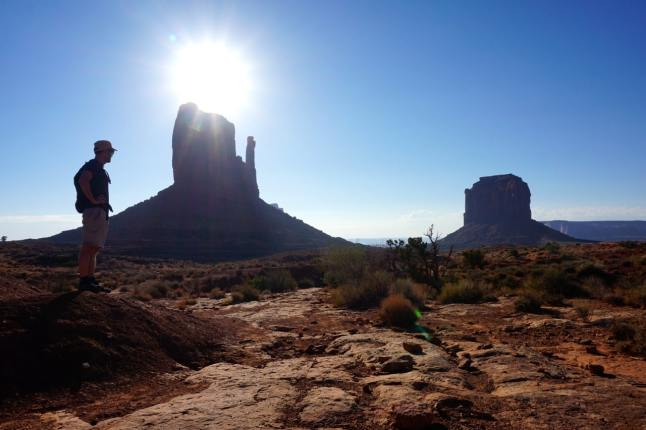 Monument valley, West Mitten Tour