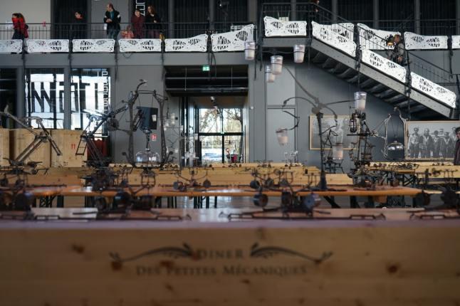 Toulouse, Halle de la Machine, Dîner mécanique