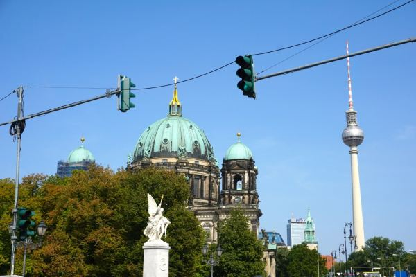 Berlin, Berliner Dom et Tour de la télévision