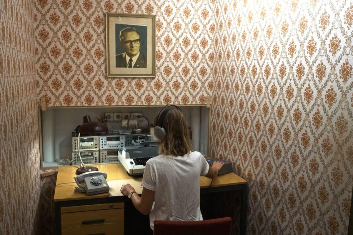 Berlin, Musée de la RDA, les interrogatoires