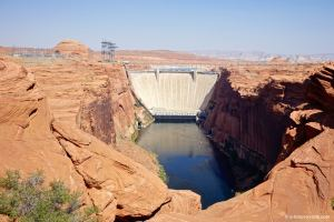 USA, Glen Canyon Dam