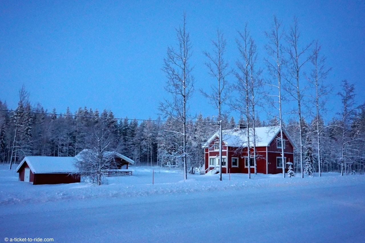 Laponie finlandaise, maison