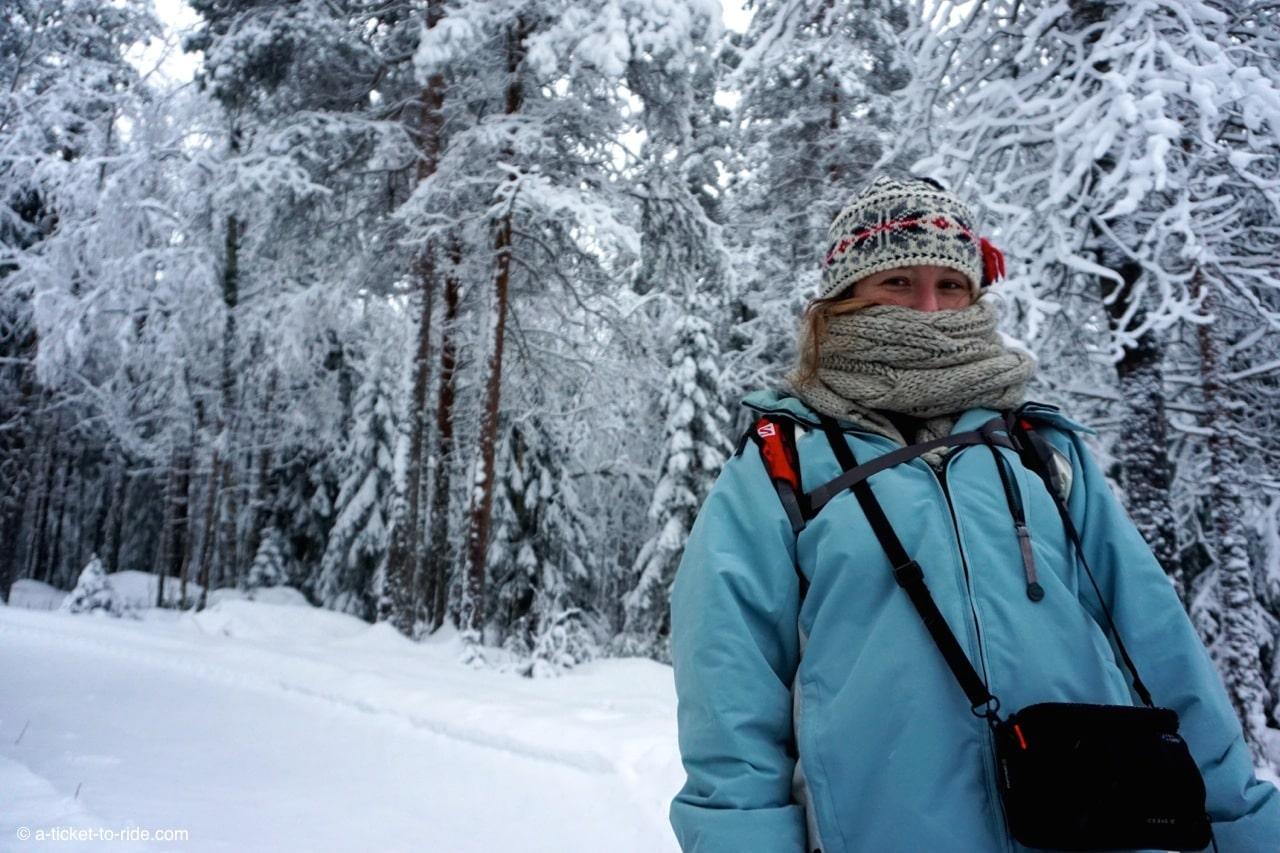 Laponie finlandaise, elodie