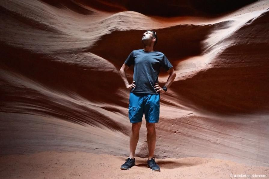 Upper Antelope Canyon, Mathieu