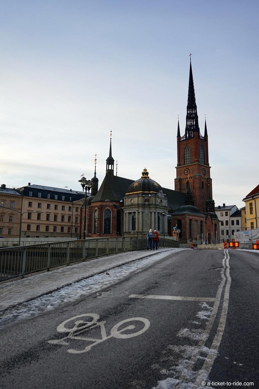Stockholm, clocher en fer forgé