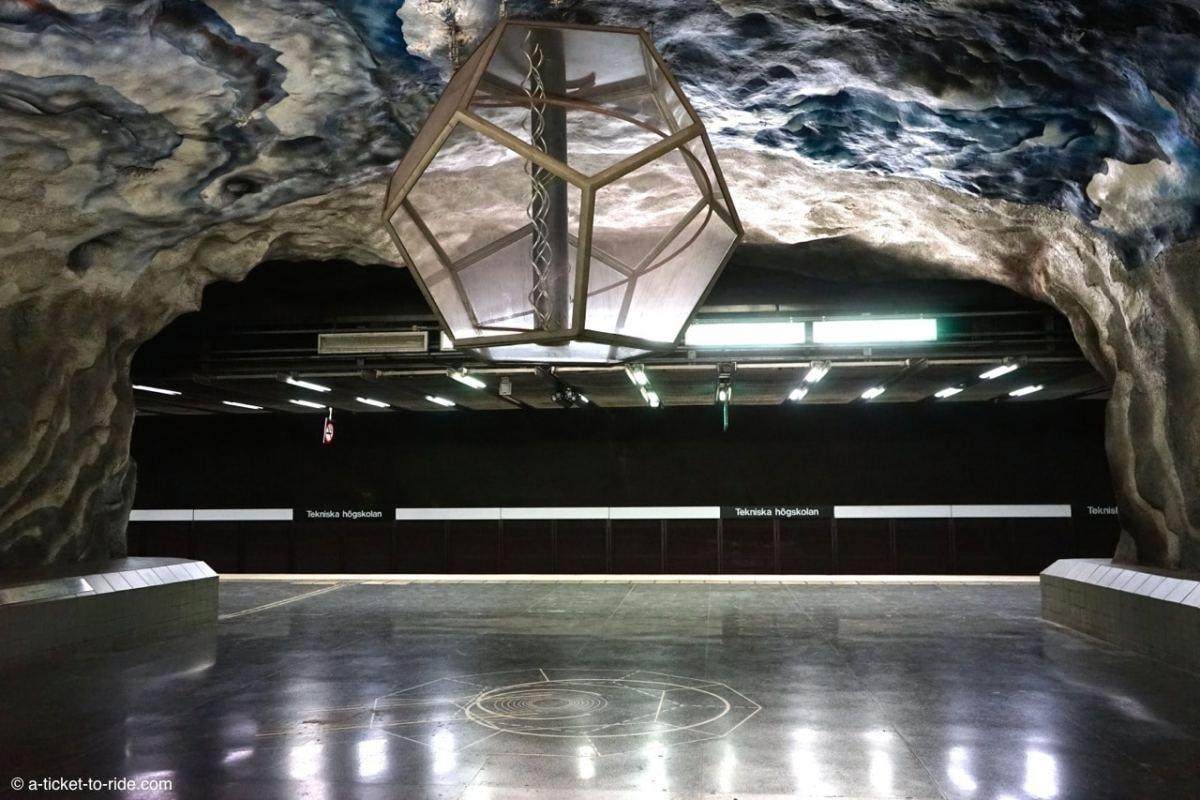 Stockholm, métro Tekniska Hogskolan