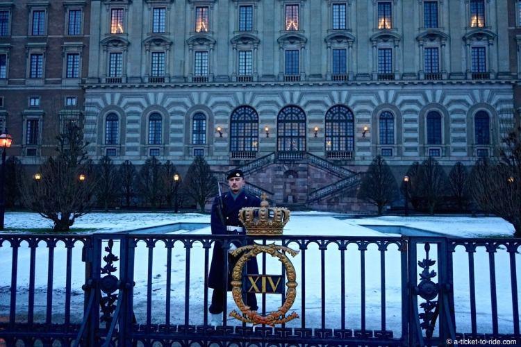 Stockholm, Palais royal