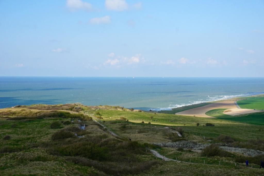 Cote d'Opale, panorama depuis la Dover Patrol