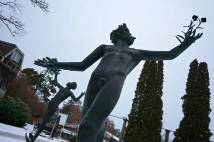 Stockholm, Miles Garden, jardin