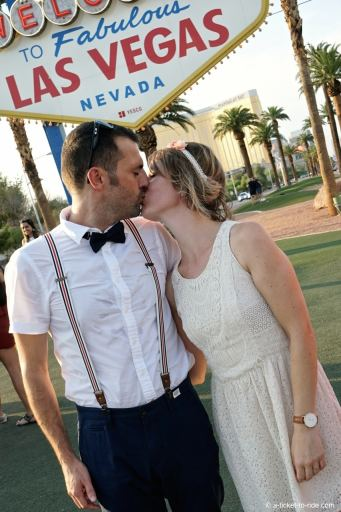 Mariés à Las Vegas, USA