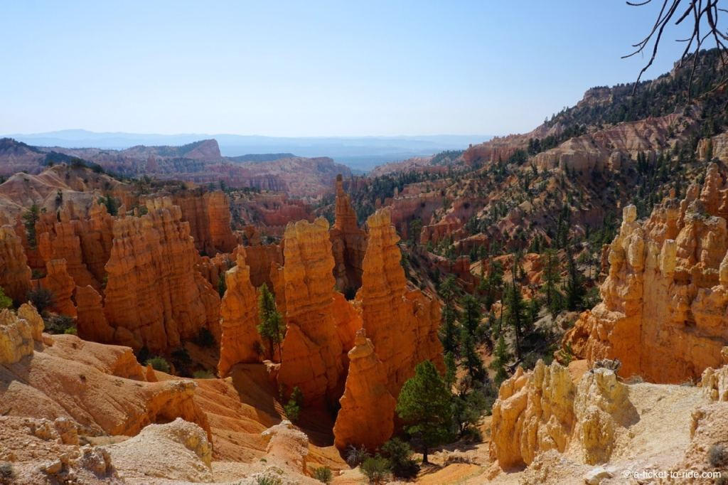 USA, Bryce Canyon, Cheminées de Fée