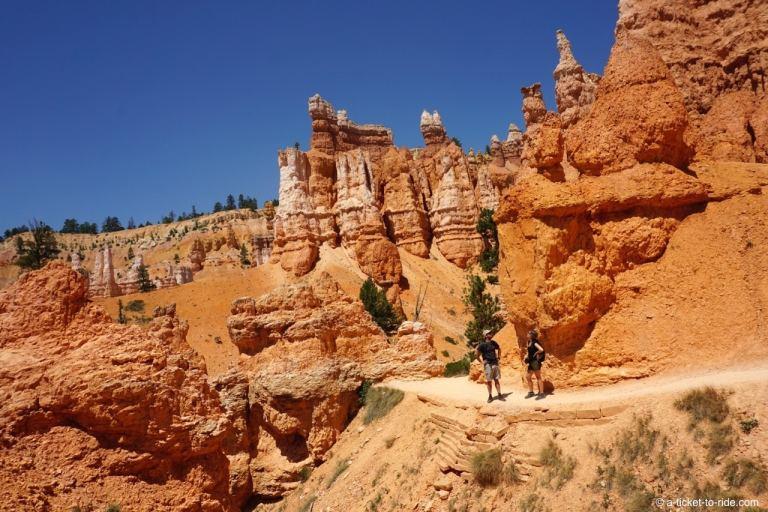 USA, Bryce Canyon, randonner