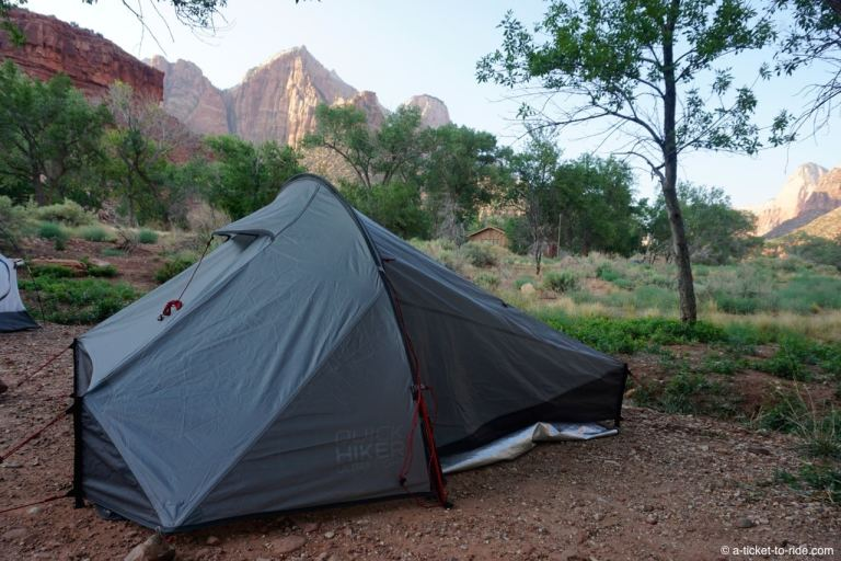 Zion National Park, South Campground