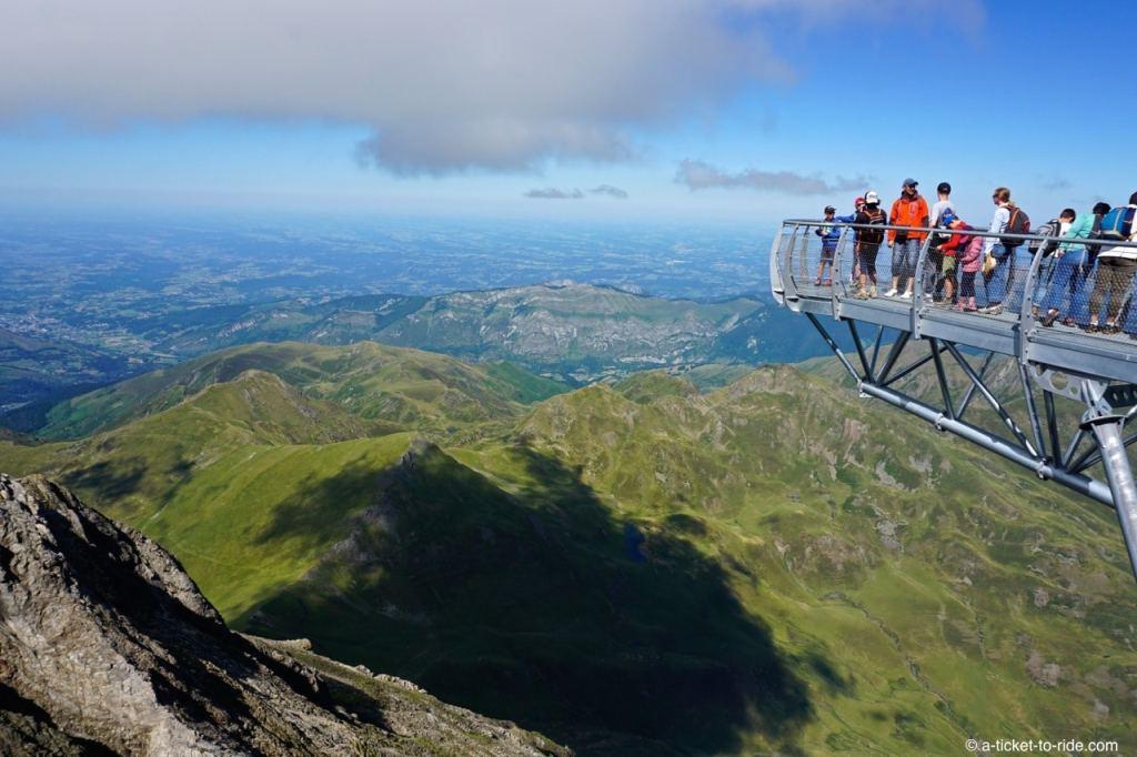 Hautes-Pyrénées, Pic du Midi, Ponton dans le ciel