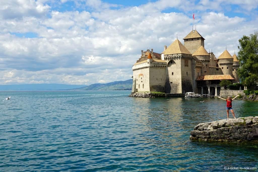 Lac Léman, Château de chillon