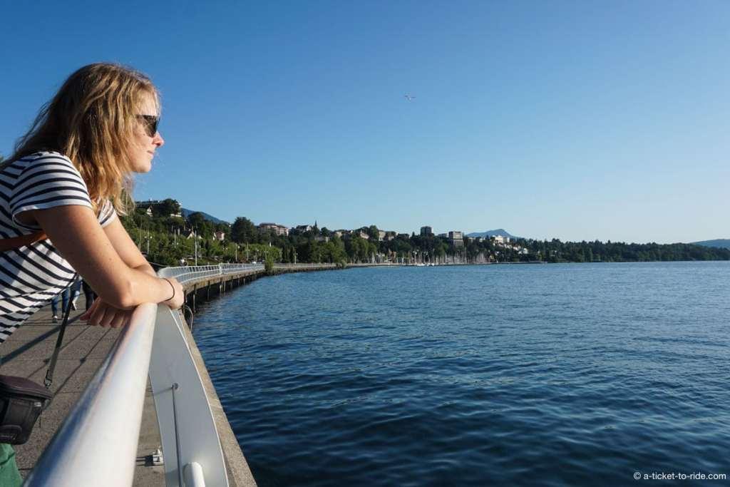 Thonon-les-Bains, les quais du Lac Léman
