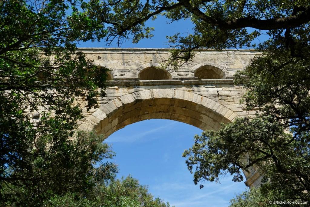 Pont du Gard, arche