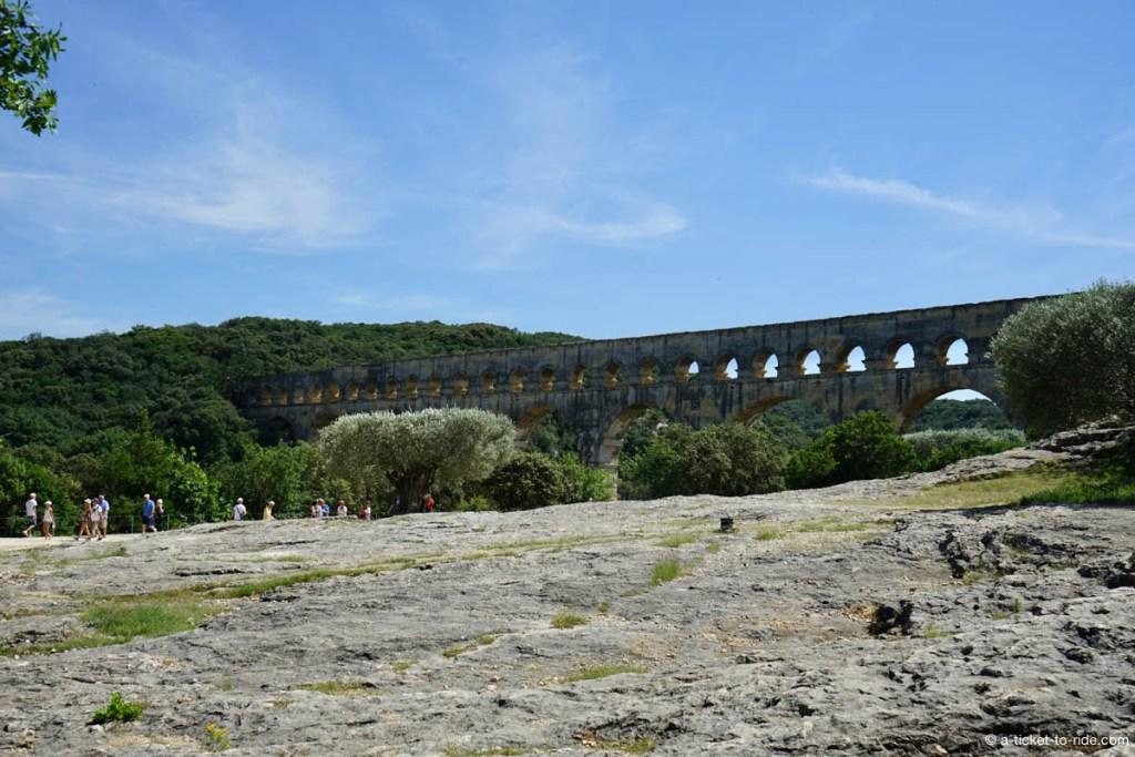 Pont du Gard, en pleine garrigue