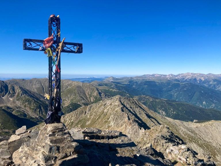 Croix du Pic du Canigou
