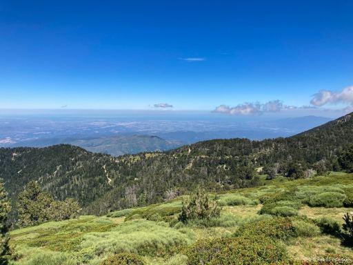 Panorama 360 degré depuis le chemin du Canigou