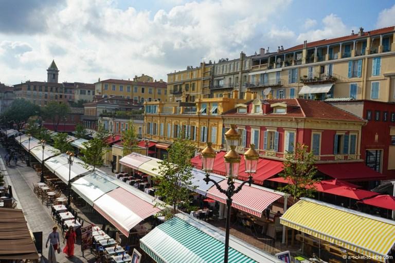 Cours Saleya, marché