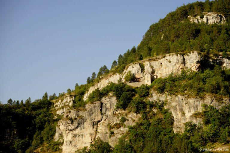 Sainte-Enimie, ermitage