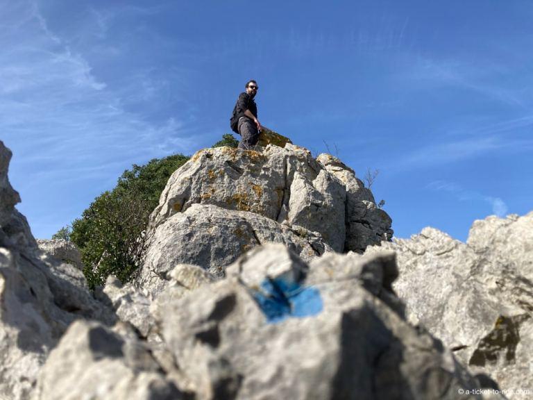 Escalade et randonnée sur les crêtes du Pic Saint-Loup