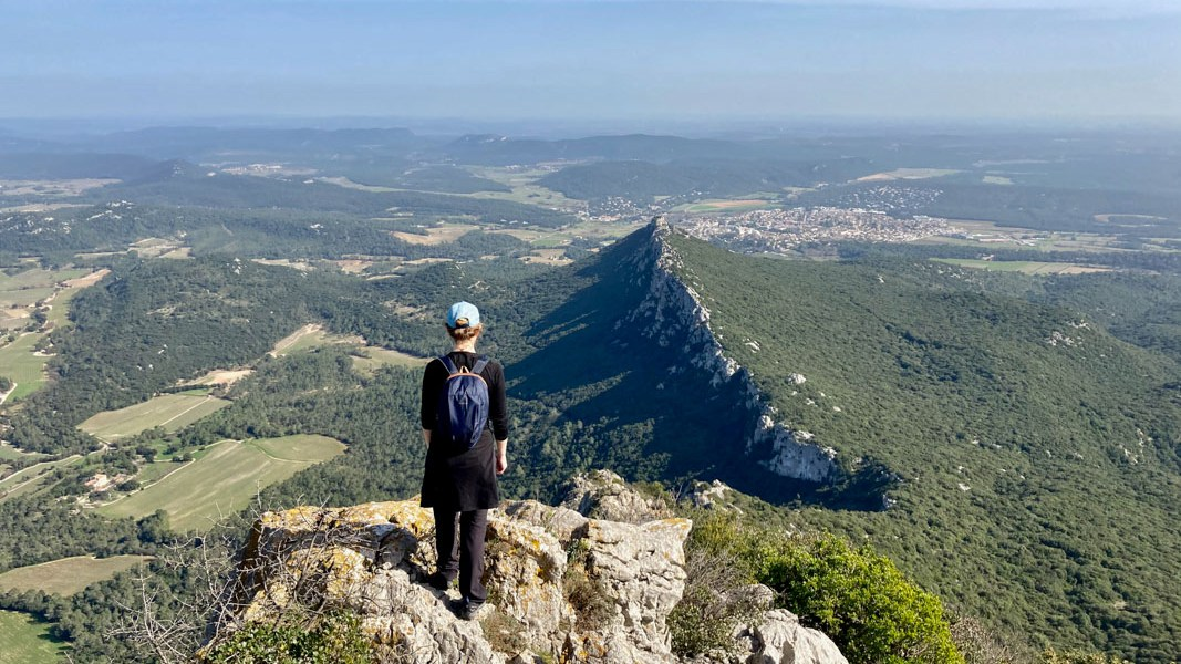 Panorama ouest Pic Saint-Loup