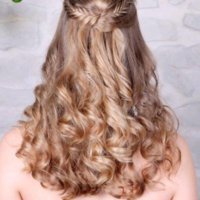 Frisuren Lange Haare Halb Hochgesteckt Drawing Apem