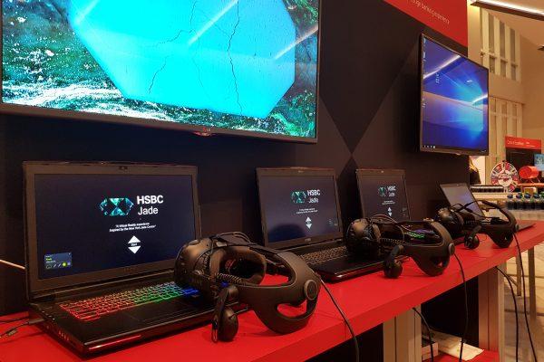 HSBC Jade Lounge VR Experience