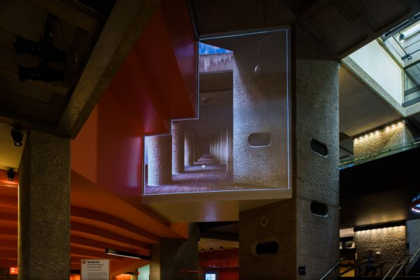 view of the projection from the ground floor
