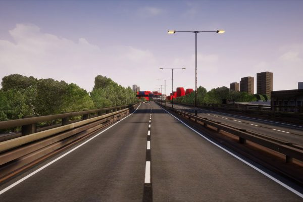 Screenshot from VR experience Chiswick Curve
