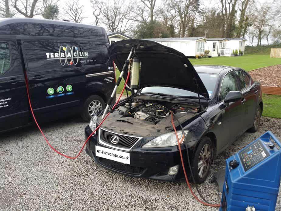 Lisa Hillyard – Darlington – Lexus IS220d TerraClean & DPF & Turbo & EGR Clean Review