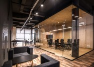 Gjirafa.biz wanted their offices to exude a sense of professionalism and seriousness.