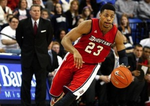 Duquesne's Jeremiah Jones was one of two players arrested this past weekend for a double dose of bad news for the Dukes.