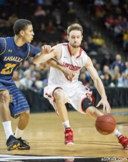 Davidson's Tyler Kilinoski increased his three-point percentage from 29.3% as a freshman to 42.3% as a senior.