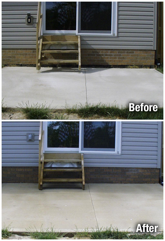 concrete patio repair colorado springs