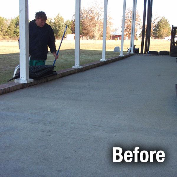 concrete patio repair concrete patio