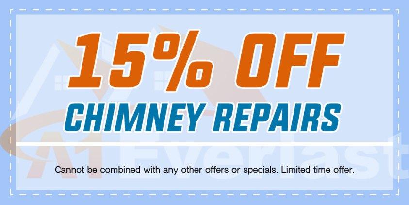 15% Off Chimney Repairs