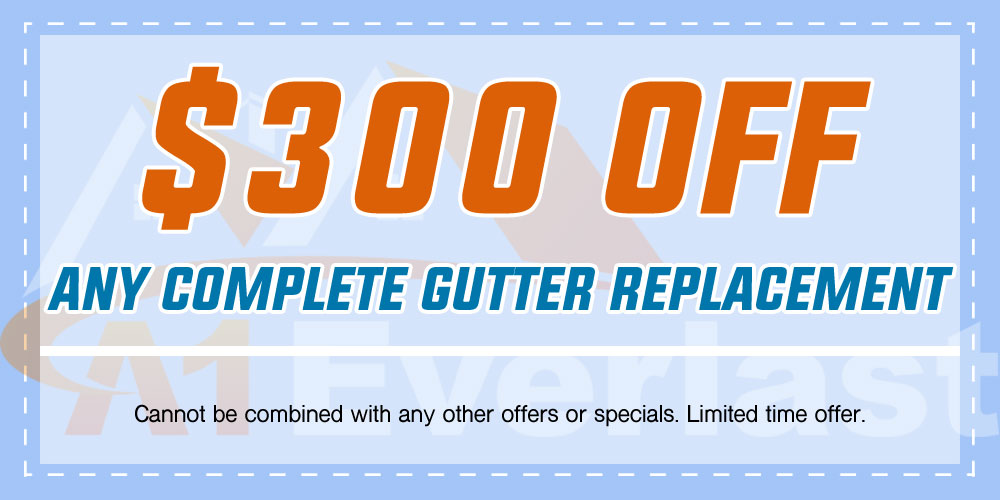 $300 Off Any Complete Gutter Replacement