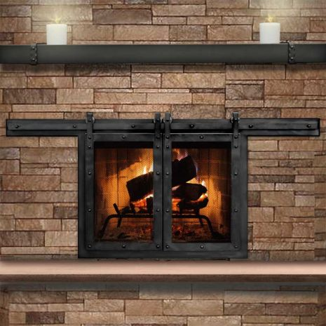 Glass Doors For Your Fireplace Do The Pros Recommend Them