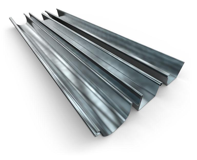 aluminum gutters