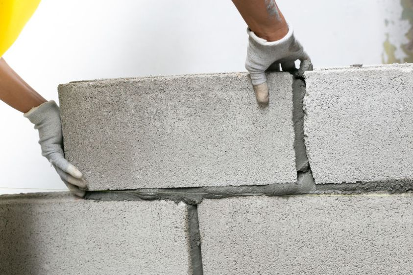 cement concrete wall