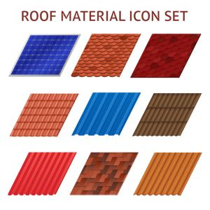 different roofing materials