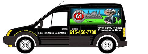 a-1 locksmith car