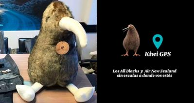 Air New Zealand - Concurso Kiwi gps - peluche